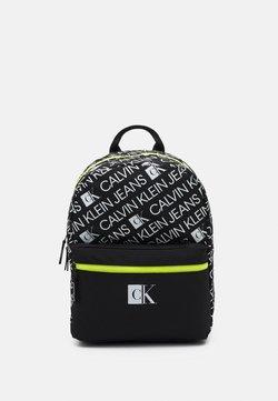Calvin Klein Jeans - LOGO BACKPACK UNISEX - Ryggsäck - black