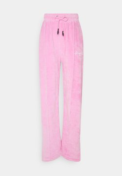 Missguided - WIDE LEG TROUSERS - Jogginghose - pink
