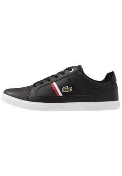 Lacoste - EUROPA - Sneaker low - black/white