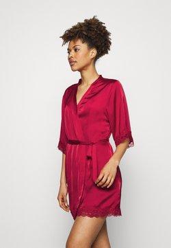 Anna Field - Ariana dressing gown gift set - Peignoir - dark red