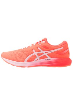 ASICS - DYNAFLYTE 4 - Laufschuh Neutral - flash coral/white