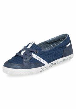 Soccx - Klassischer  Ballerina - blue navy