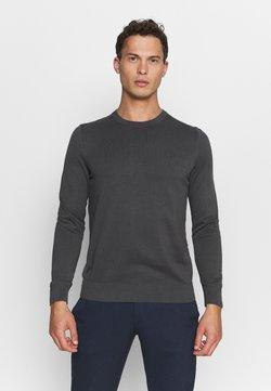 Marc O'Polo - CREW NECK - Strickpullover - gray