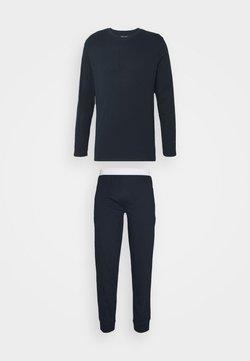 Pier One - SET - Pyjama - dark blue