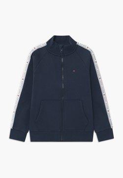Tommy Hilfiger - TAPE FULL-ZIP - veste en sweat zippée - blue