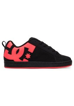 DC Shoes - COURT GRAFFIK - Sneakersy niskie - black hot pink