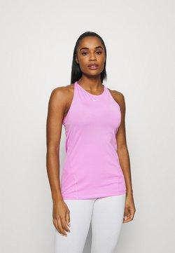 Nike Performance - TANK ALL OVER  - Tekninen urheilupaita - beyond pink/white