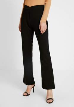Nly by Nelly - WRAP WAIST PANTS - Jogginghose - black