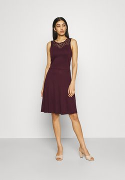 ONLY - ONLNEW NICOLE LIFE DRESS - Jerseykleid - fig