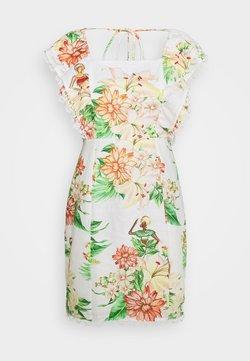Farm Rio - TROPICAL FLORAL MINI DRESS - Vapaa-ajan mekko - tropical floral