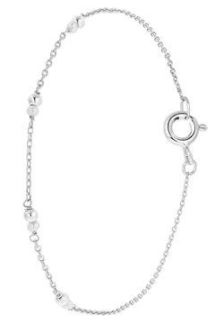 Lucardi - ZOETWATERPARELS - Armband - zilver