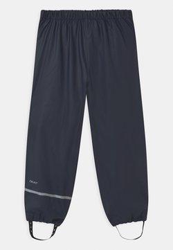 CeLaVi - OVERALL SOLID UNISEX - Pantalon de pluie - dark navy