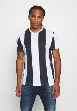 Brave Soul - BERTONIB - T-shirt imprimé - optic white/rich navy