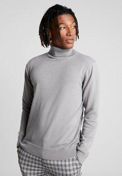 Brave Soul - HUME - Stickad tröja - dark grey marl