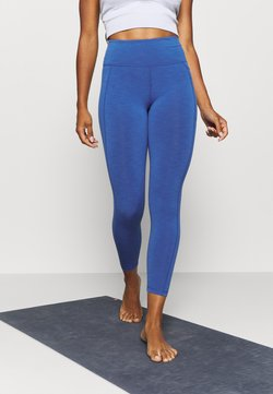 Sweaty Betty - SUPER SCULPT 7/8 YOGA LEGGINGS - Medias - blue quartz marl