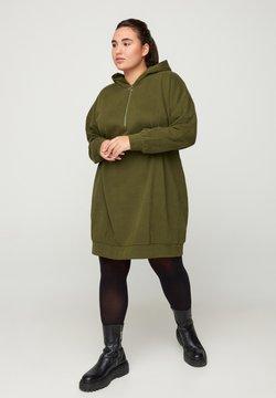 Zizzi - Jerseykleid - green