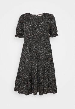 ONLY Carmakoma - CARNORI KNEE - Vapaa-ajan mekko - black
