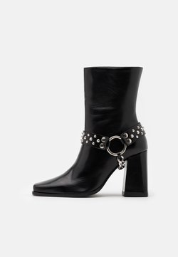The Kooples - BOTTINES AVEC BIJOUX - Cowboy-/Bikerstiefelette - black