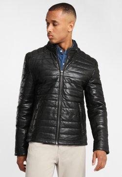 Gipsy - Imitatieleren jas - black