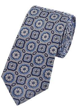 Next - SIGNATURE MEDALLION - Krawatte - dark blue, light blue, white