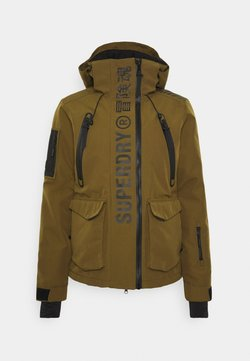 Superdry - ULTIMATE MOUNTAIN RESCUE - Kurtka narciarska - dusty olive