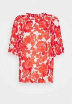 Hofmann Copenhagen - ELLIE - Bluse - coral print