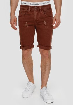 INDICODE JEANS - Shorts di jeans - rootbeer