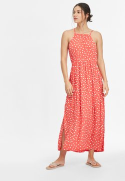 O'Neill - Maxikleid - red with white