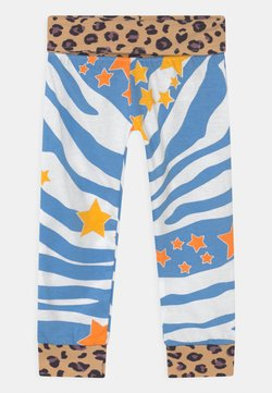 Never Fully Dressed Kids - AQUA ZEBRA PRINT UNISEX - Leggings - Hosen - multi-coloured