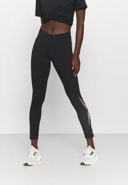 Reebok - MODERN SAFARI LEGGING - Tights - black