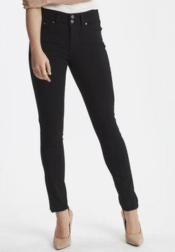 Fransa - ZALIN PANTS - Jeans Skinny Fit -  black