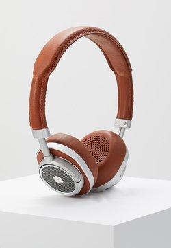 Master & Dynamic - MW50 WIRELESS ON-EAR - Hodetelefoner - brown/silver-coloured