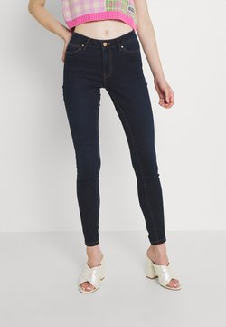 Vero Moda - VMJUDY JEGGING  - Jeans Skinny - dark blue denim