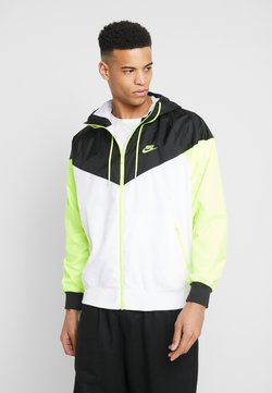 Nike Sportswear - Windbreaker - white/black/volt