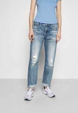 G-Star - KATE BOYFRIEND WMN - Jeans relaxed fit - aqua destroyed