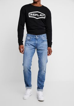 Replay - ANBASS - Jeans a sigaretta - medium blue