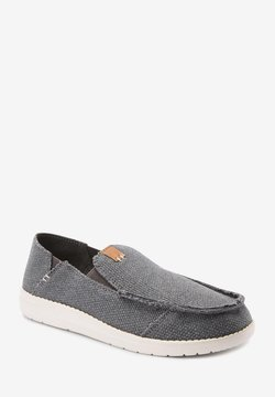 Next - RELAXED FRAY  - Loafers - grey