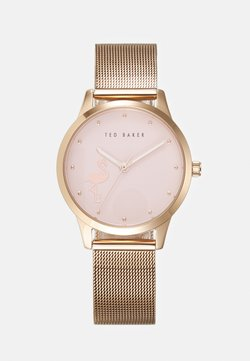 Ted Baker - FITZROVIA FLAMINGO - Montre - rosegold-coloured