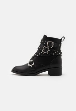 ONLY SHOES - ONLBRIGHT STUD BOOT - Santiags - black