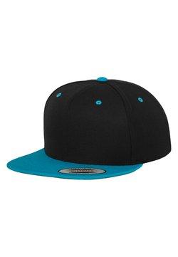 Flexfit - CLASSIC SNAPBACK 2-TONE - Cap - black/turquoise