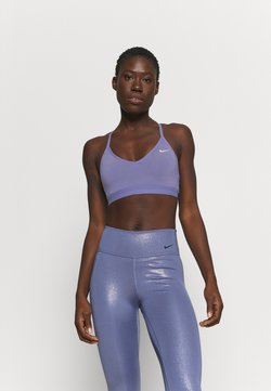 Nike Performance - INDY BRA - Urheiluliivit - world indigo/white