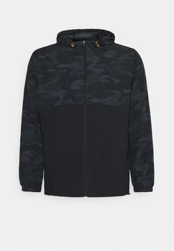 Johnny Bigg - ACTIVE CAMO PRINT JACKET - Veste légère - black