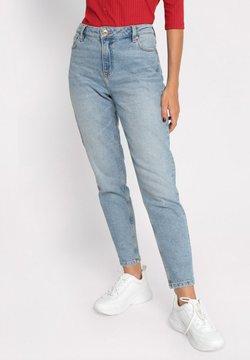 Cache Cache - GEWASCHENE MOM JEANS - Jeans fuselé - denim double stone