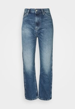 Calvin Klein Jeans - HIGH RISE STRAIGHT ANKLE - Jeans Relaxed Fit - light blue utility