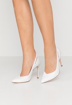 Tamaris Heart & Sole - COURT SHOE - High Heel Pumps - white/pearl