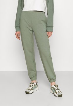 Even&Odd - REGULAR FIT JOGGERS  - Jogginghose - green