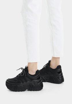 Bershka - Sneakers laag - black