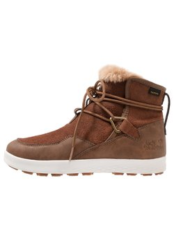 Jack Wolfskin - AUCKLAND TEXAPORE BOOT - Snowboot/Winterstiefel - desert brown/white