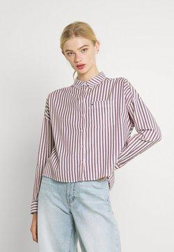 Tommy Jeans - BOXY STRIPE - Skjorta - white/multi