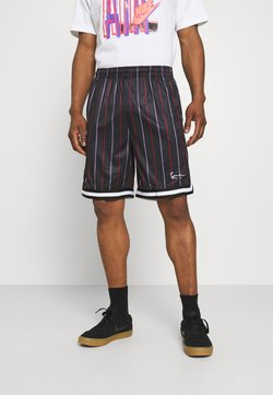 Karl Kani - SMALL SIGNATURE PINSTRIPE  - Shorts - black